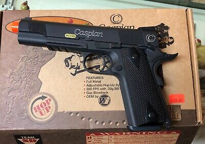 BEST QUALITY FULL SIZE SPRING AIRSOFT GUN PISTOL  Metal, Gas Blowback Power