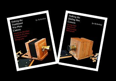 Both books on how to make Wet Plate Cameras.
