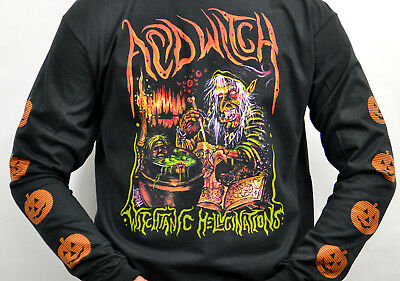 Acid Witch Witchtanic Hellucinations 2008 Long Sleeve T-Shirt 08 Long Sleeve T-shirt