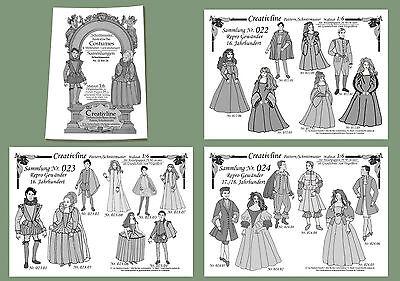 3 Sammlungen Nr. 22 bis 24 - Schnittmuster Mittelalter Historische Kostüme - 3.6
