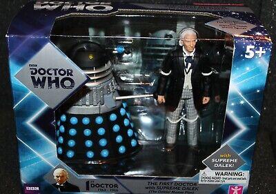 1st Doctor Who & DALEK SUPREME Box Set Action Figure NIB The Daleks' Masterplan