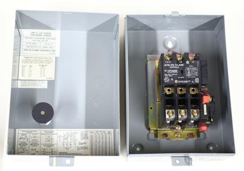 Joslyn Clark HP10U03-76 NEMA Size 1 Starter Contactor 460 V/10 HP 120 VAC coil