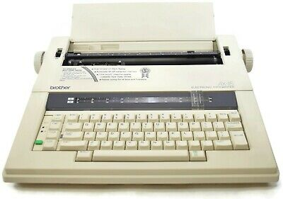 Brother Ax-15m Electronic Typewriter Works