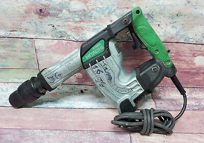 Hitachi H 45mr Corded Heavy Duty Sds Max Shank Demolition Hammer Power Tool