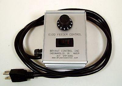 Bryant Bci E100 Vibratory Feeder Bowl Control 10a115vac