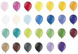 50-plain-10-Latex-Party-Balloons-Choose-from-27-colours-Top-Quality-Brand