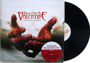 BULLET-FOR-MY-VALENTINE-LP-Temper-Temper-vinyl-NEW-w-Inner-sleeve-UNPLAYED-2013