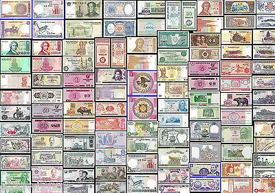 WORLD BANKNOTES * ALL MINT UNC * ALL JUST 99p EACH *MULTI LISTING