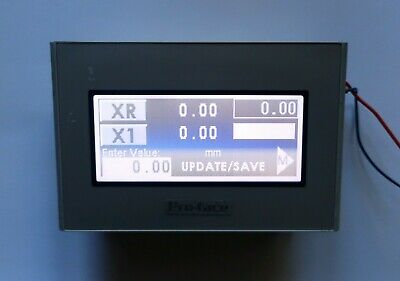 Pro-face Gp4106w1d 200 X 80 Bw Touch Screen Hmi Operator Panel