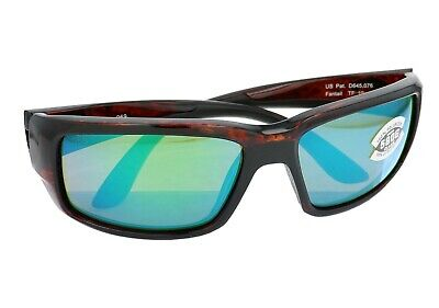 Costa Del Mar Fantail Green Mirror 580G Lens Tortoise Sunglasses TF 10 (Multi Colored Lens Sunglasses)
