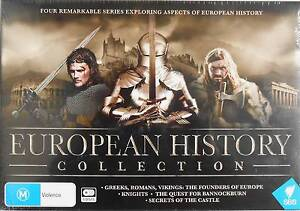 SBS European History Collection, 5 DVD set. NEW RRP $49.95 Newtown Geelong City Preview