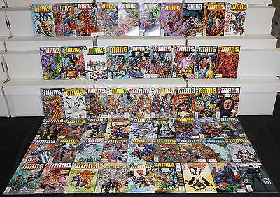 Modern DC TITANS VOL. 1 55pc High Grade Comic Lot Nightwing Cyborg Deadshot Teen