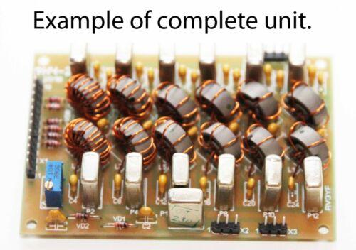 Low-pass filters for HF Amateur Transceiver (LPF).9 bands. 13.8V.Assembled unit!