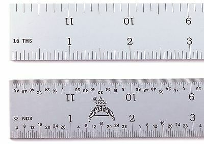 Blem Cosmetic Second Pec 12 Rigid Satin 4r Machinist Ruler 18 116 132 164