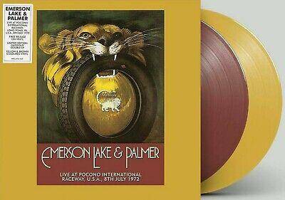 Emerson, Lake & Palmer LP Live at Pocono Raceway, USA 1972 RECORD STORE DAY (Raceway Stores)
