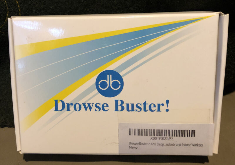Drowse Buster Doze Prevention Wearable Device Anti Sleep Alarm Car Safety Drive