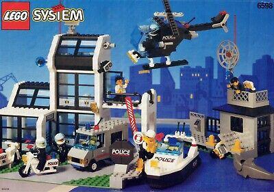 Libretto istruzioni LEGO CITY 6598 Metro PD Station