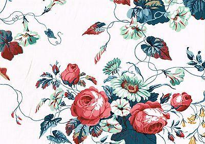 Waverly Fabric Vanity Fair Mayfair Collection  Cotton Drapery Upholstery  (Mayfair Fabric)
