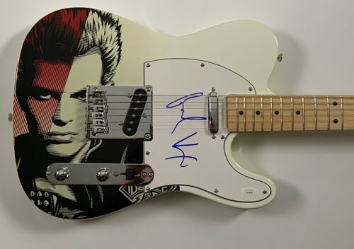 Billy Idol Autograph Signed Guitar Telecaster JSA COA