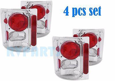 MONACO DIPLOMAT 2004 2005 2006 2007 CHROME TAILLIGHTS REAR LAMPS RV - 4PCS SET