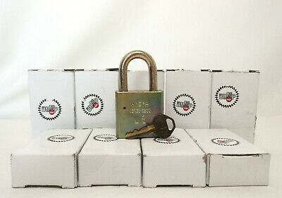 5 New American Lock Series 5200 Padlocks All Keyed Alike New