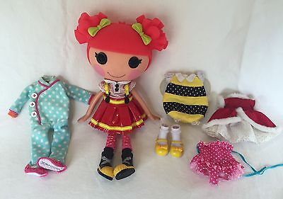 Lalaloopsy Doll EMBER FLICKER FLAME Holiday Dress Bee Costume 12