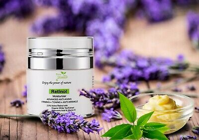 Retinol Cream for Face and Eye Area - Retinol Moisturizer -Best Night Face