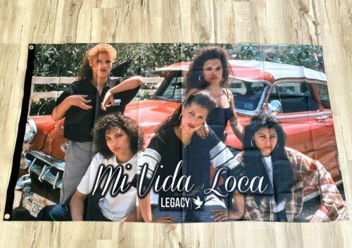 Mi Vida Loca 3ftx5ft flag banner limited edition los angeles chicana latina new