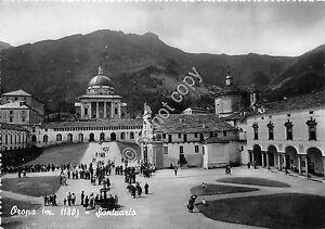Cartolina-Postcard-Oropa-Santuario-animata-1953