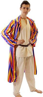 Joseph Technicolour Dreamcoat Complete Costume Jacket, Top, Long Coat Child