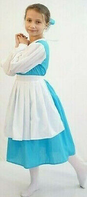 BELLE DAY VILLAGE DRESS Beauty and the Beast Stage Dance Show Costume All (Belle Dance Kostüm)
