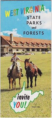 1960's West Virginia's State Parks & Forests Brochure