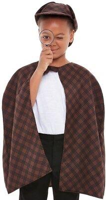 Kinder Detektive Kostüm Set Kinder Sherlock Holmes Festgelegten (Sherlock Holmes Kostüm Kind)