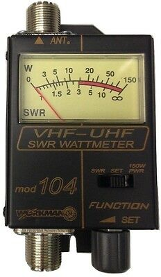 Workman 104 SWR / Power Meter for VHF / UHF Ham  Radio