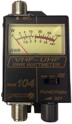 Workman 104 SWR / Power Meter for VHF / UHF Ham  Radio