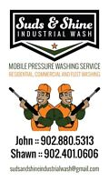 Residential & Commercial Pressure Washing Service