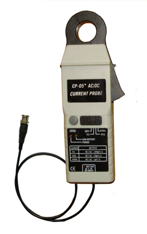 CP-05+ DC/AC Clamp Current Probe,100KHz,400A,23mm Jaw size