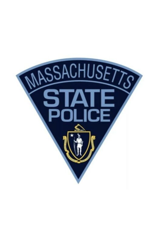 Mass State Police Patch Decal