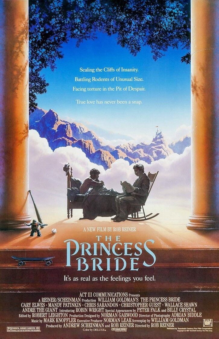 The Princess Bride  Movie Collector's Poster Print  - B2G1F