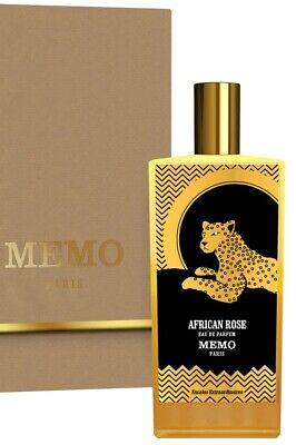 Memo Paris African Rose 7 Ml Perfume EDP UNISEX (FREE SHIP) SEE 2ND PHOTO