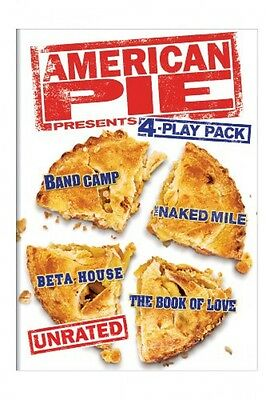 American Pie Presents  Unrated 4 Play Pack  Band Camp   The Naked Mile   Beta