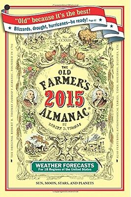 The Old Farmer's Almanac 2015 by Old Farmers Almanac, Paperback, 2014, New on Rummage