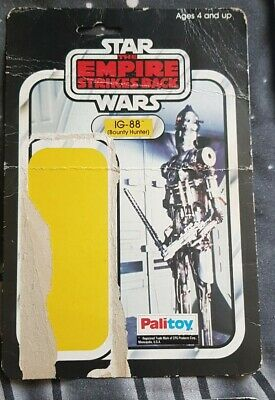 Vintage Star Wars Palitoy  IG-88 Card Back