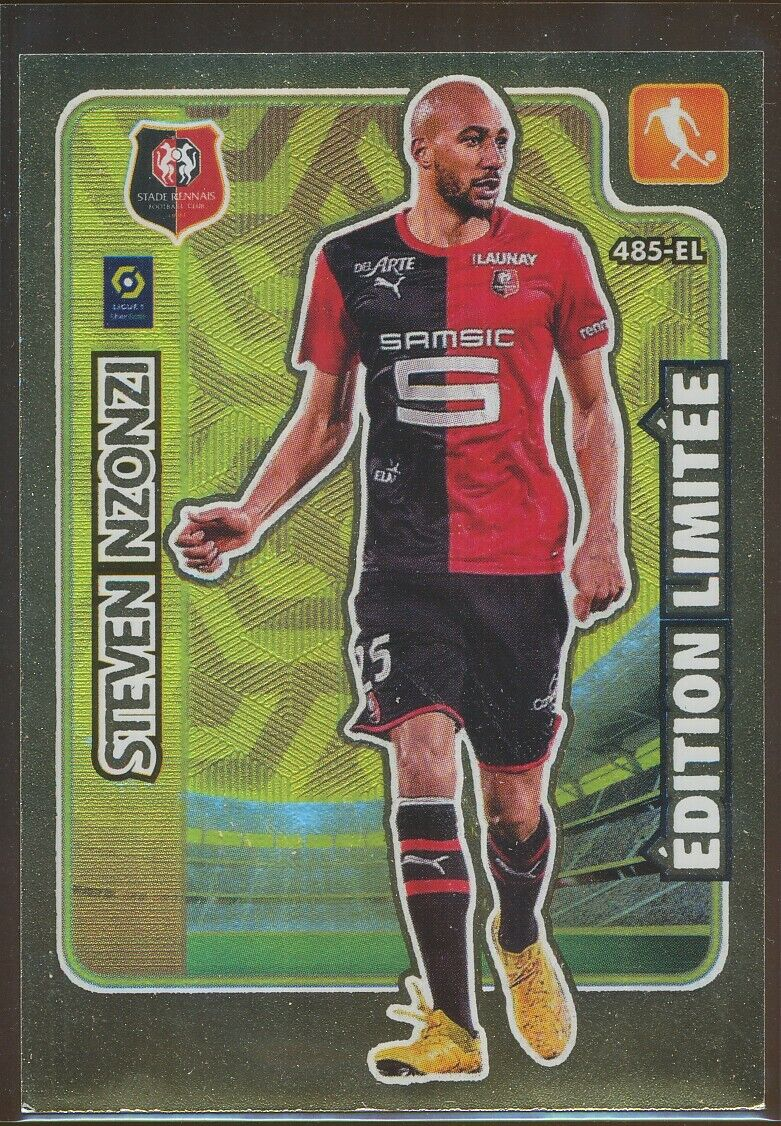 485 steven nzonzi rare edition limitee carte card adrenalyn ligue 1 2021 panini