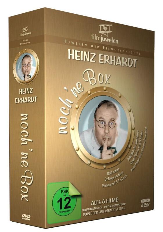 6 DVDs * HEINZ ERHARDT - NOCH 'NE DVD BOX (6 KULTFILME + BONUS) # NEU OVP