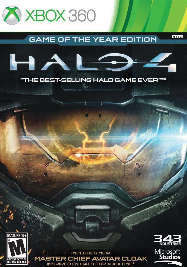 Halo 4 -- Game of the Year Edition (Microsoft Xbox 360, 2013)