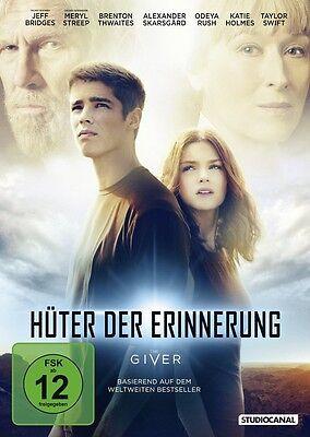DVD * Hüter der Erinnerung - The Giver * NEU OVP * Meryl Streep