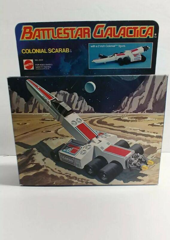 Vintage Battlestar Galactica Scarab 1st Release Firing , SUPER MINT! (Gradable)