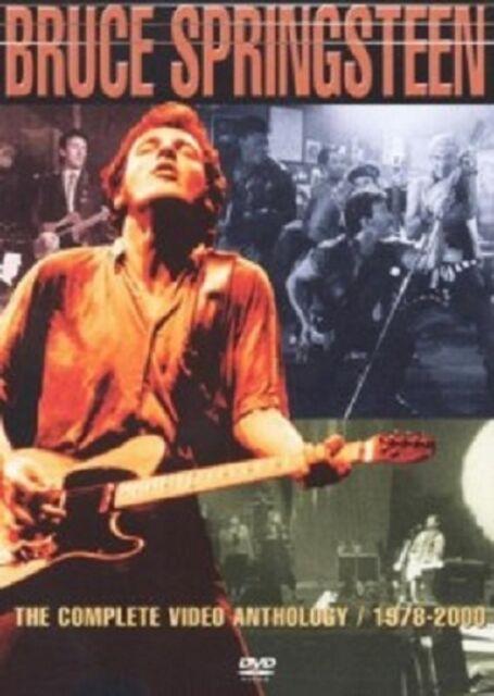 BRUCE SPRINGSTEEN - THE COMPLETE VIDEO ANTHOLOGY 1978-2000 2 DVD ROCK/POP NEU