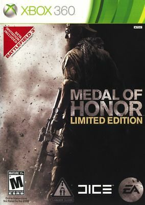 Medal Of Honor    Limited Edition    Jeux Xbox 360   Brand New   Sealed